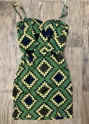Стильное секси платье topshop