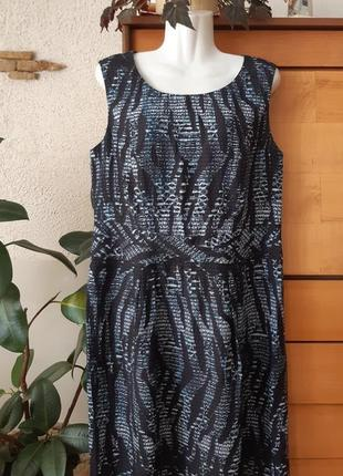 Легкое платье из интересной ткани