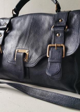 Warehouse вместительная кожаная сумка