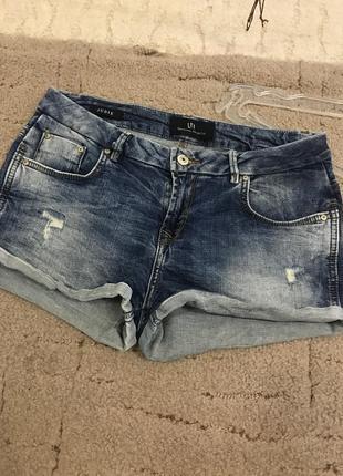 Ltb шорти джинсові / шорты джынсовые