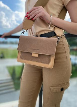 Маленькая женская сумка кросс боди