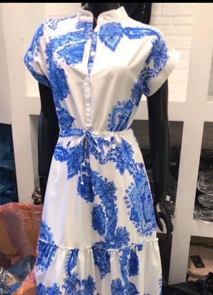 Нарядное летнее платье турция вискоза
