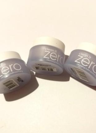 Средство для очищения и снятия макияжа banila co. clean it zero, 7 мл