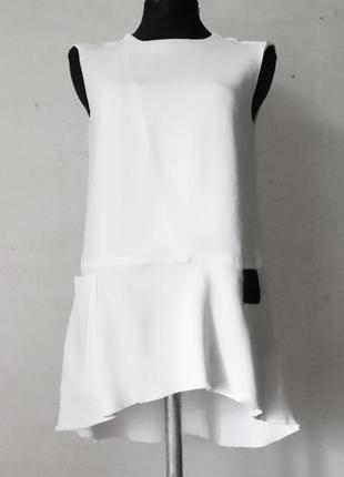 Асимметричная блуза dondup премиум бренд