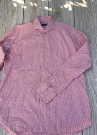 Стильная актуальная рубашка suit supply zegna brioni scotch & soda