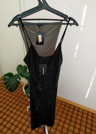 Черное платье гусеница