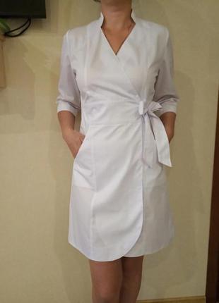 Медицинский халат (платье)