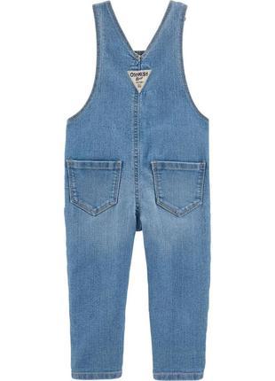Комбінезон з квіткових джинсових тканин2 фото