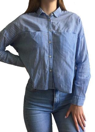 Укорочена сорочка від bershka