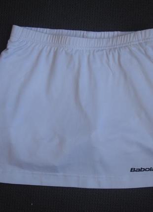Фирменная спортивная юбка шорты для тенниса девочке 8-10 лет в новом состоянии