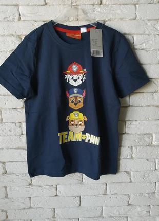 Lupilu футболка принт щенячий патруль paw patrol
