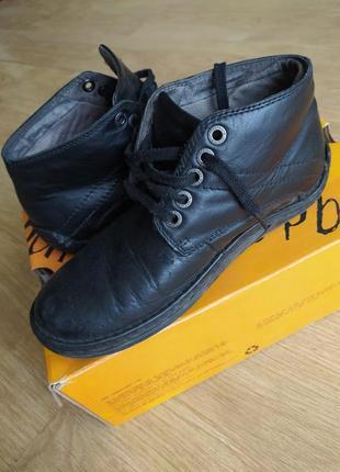 Черные мужские ботинки dr. marten's original