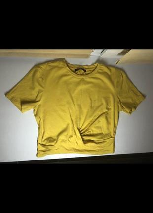 Топ футболка zara