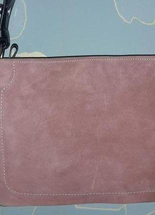 Сумка крос боди спорт sporty crossbody baby pink bag bally