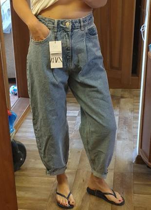 Новые с биркой джинсы слоучи zara