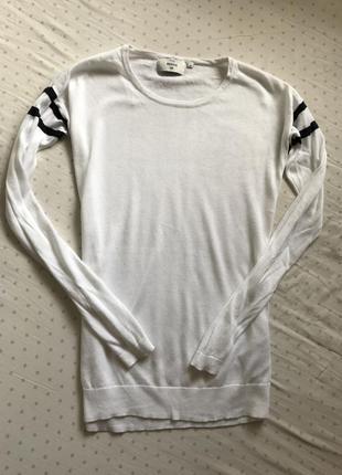 Белый легкий свитер s m c&a