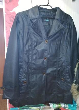 Плащ-курточка(весна осень) размер 54