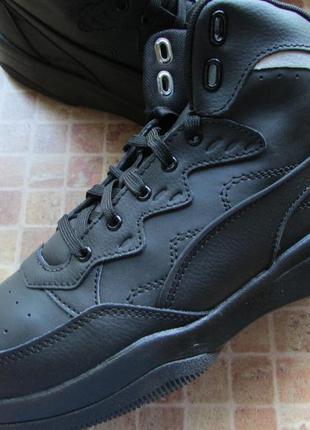 Кроссовки ботинки puma rb playoff мужские кожа длина по стельке 28 и 29 см