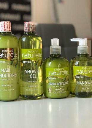 Набір зволоження для щоденного використання з екстрактом оливкової олії