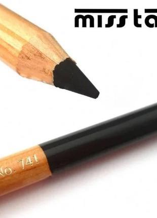 Карандаш для бровей miss tais №741 графит темно-серый мисс таис чехия