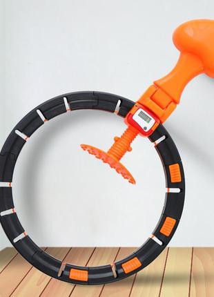 Обруч поясной je smart hula hoop смарт-хула-хуп для живота и талии