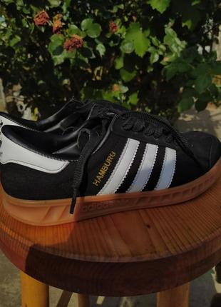 Adidas hamburg original замша 37