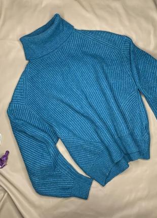 Свитер/летняя цена с объемными рукавами oversize от h&m
