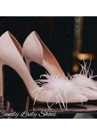 Дизайнерские свадебные туфли candy lady