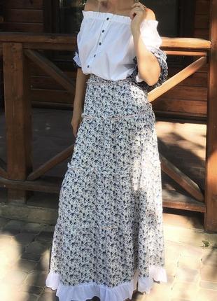 Комплект  юбка блуза