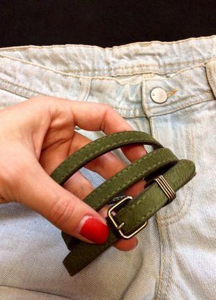 Фирменный кожаный ремешок inwear(дания),пояс,ремень,поясок+подарок