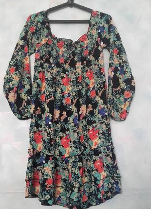 Платье next из натуральной ткани