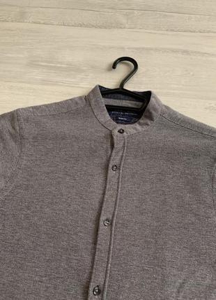 Сіра сорочка zara man