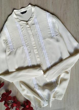 Шелковая блуза / рубашка autograph