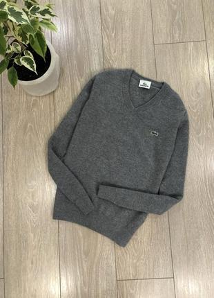 Пуловер свитер шерсть