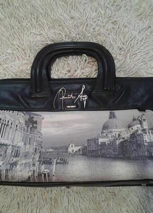 Винтажная сумка renato angi