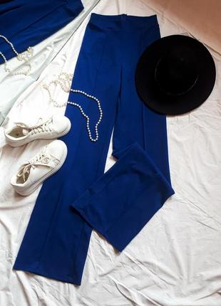 Брюки палацо штаны шырокие летные брюки