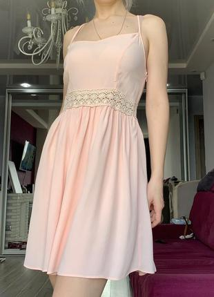 Летнее платье сарафан s new look zara h&m