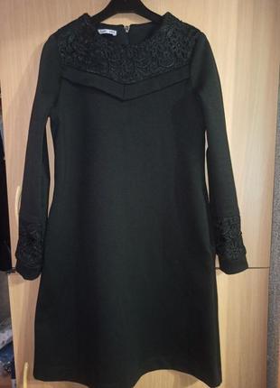 Платье (р.146). школьное платье