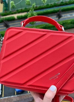 Модная женская сумка david jones cross-body