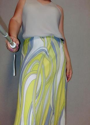 Ms юбка миди в стиле emilio pucci 16-18 размер.