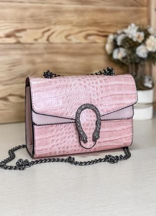 Шикарная сумочка gucci pink сумка клатч