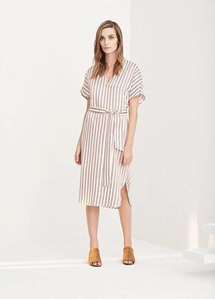 Идеальное качественное платье миди iris&inc (made in italy)