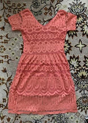 Платье кружевное 🌺