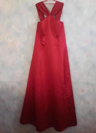 Платье-корсет макси