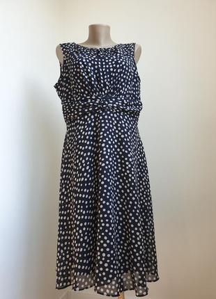 Платье в горох m&co англия