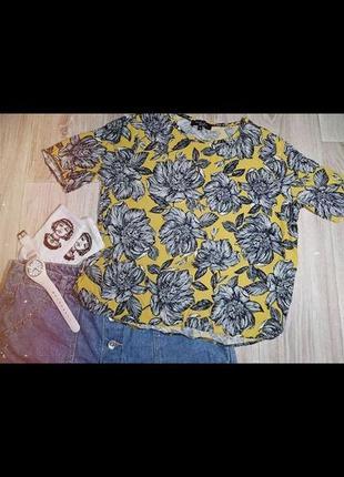 Яркая футболка-топ от new look