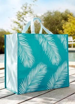 Большая яркая сумка для шопинга или пляжа шоппер от yves rocher