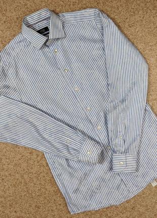 Рубашка в полоску eton of sweden