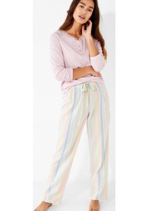 Хлопковые пижамные штаны women'secret