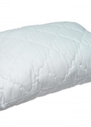 Подушка холофайбер 50х70 стеганная, чехол на молнии